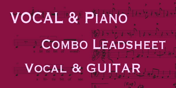 Vocal & Lead sheets